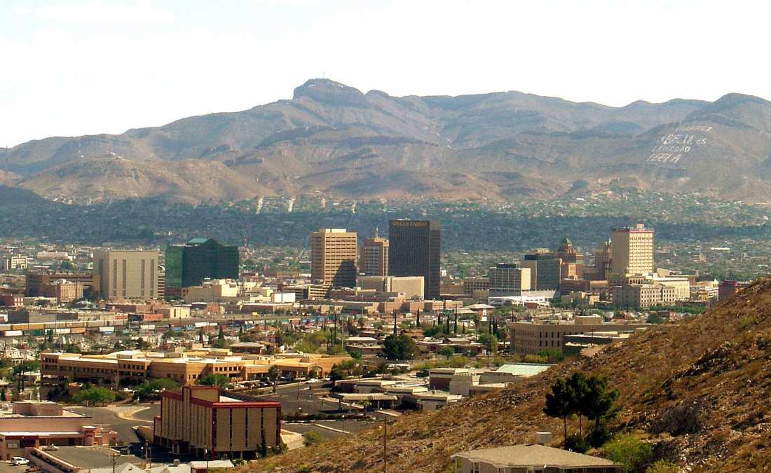 The beautiful El Paso skyline.