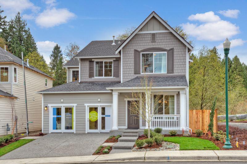 Shadowood model home exterior