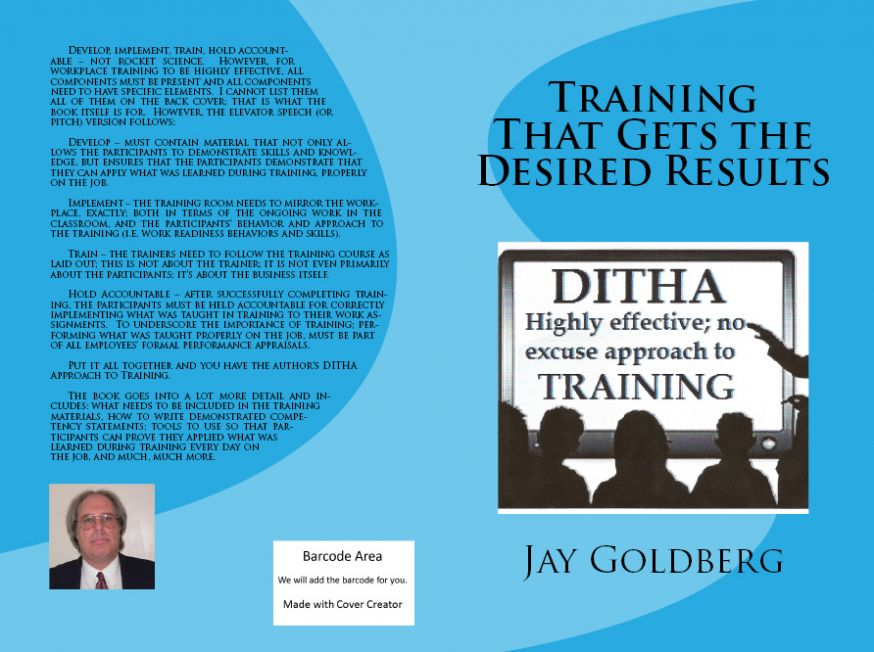 Latest book by Jay Goldberg now available on Amazon