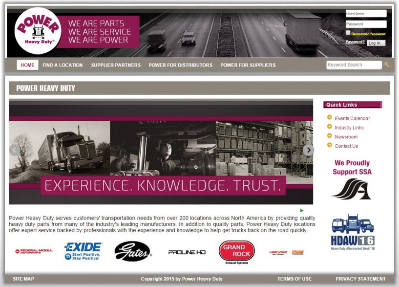 Power Heavy Duty Launches New Website