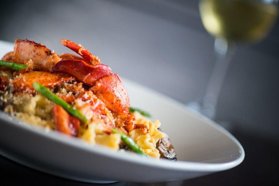 Lobster Mac N Cheese at Yard House