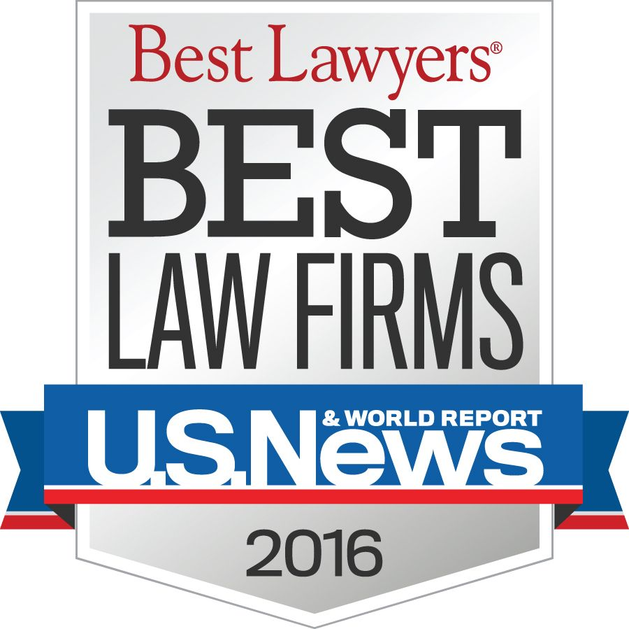 """2016 """"Best Law Firms"""" Tier 1 ranking for trusts and estates law Fort Myers metro"""