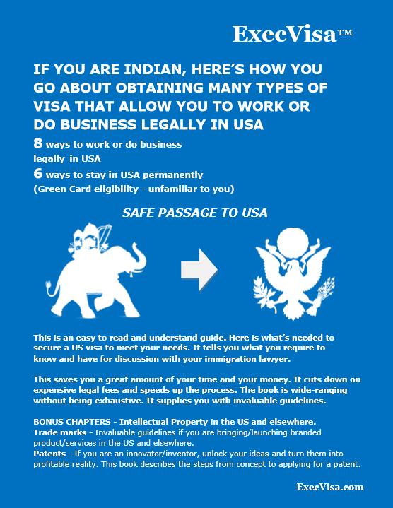 ExecVisa ebook for Indians