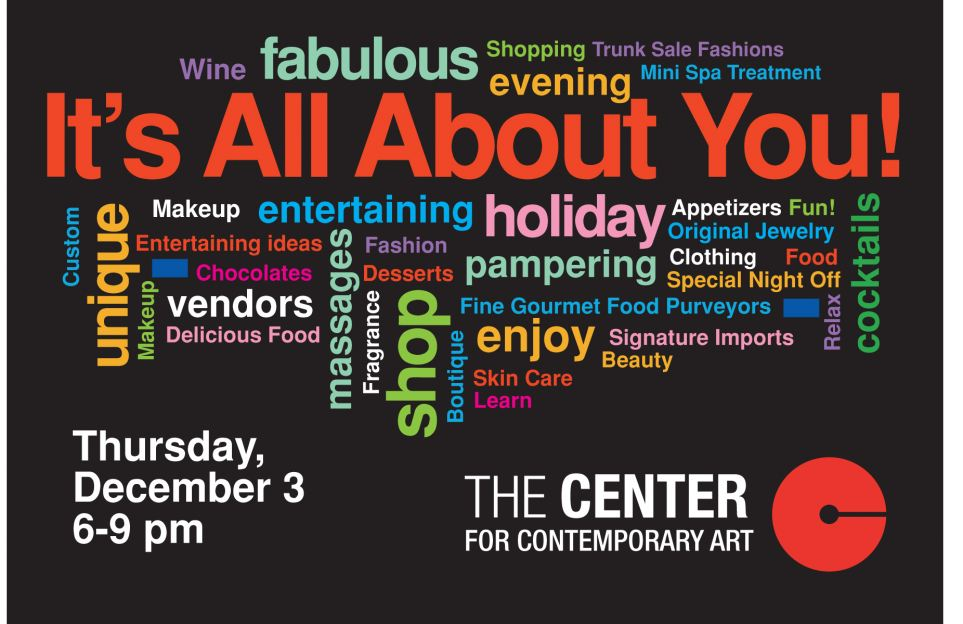 The Center For Contemporary Art To Host Winter Fundraiser