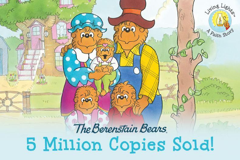 The Berenstain Bears Living Lights Line Surpasses 5 Million Units Sold