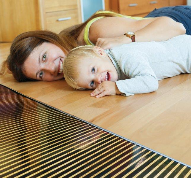 QuietWarmth Radiant Heat Film for Floating Floors