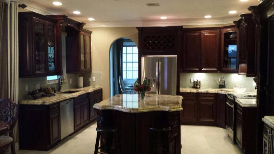 follow the top kitchen design company in west palm beach