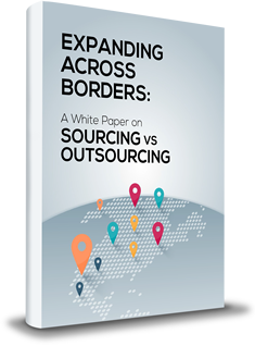 EXPANDING ACROSS BORDERS:                          Sourcing vs Outsourcing