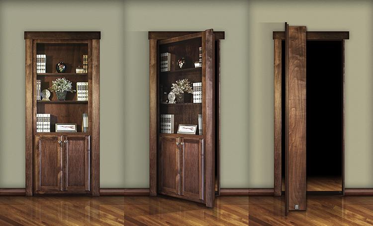 ... Door solutions, Releases its Do it Yourself Bookcase Door to the