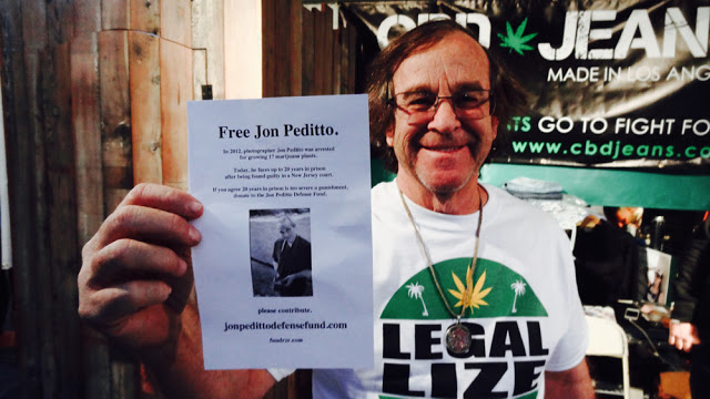 Bruce Perlowin, AKA The King of Pot, supports JonPedittoDefenseFund.com