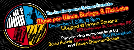 Jazz Composers Alliance (JCA) at Lilypad in December