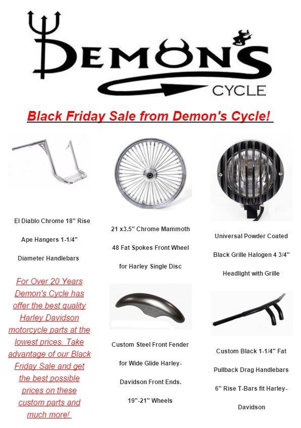 Is Harley Davidson Having A Black Friday Sale