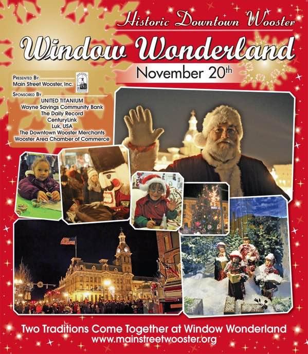 Window wonderland in wooster brings back holiday nostalgia for Window wonderland