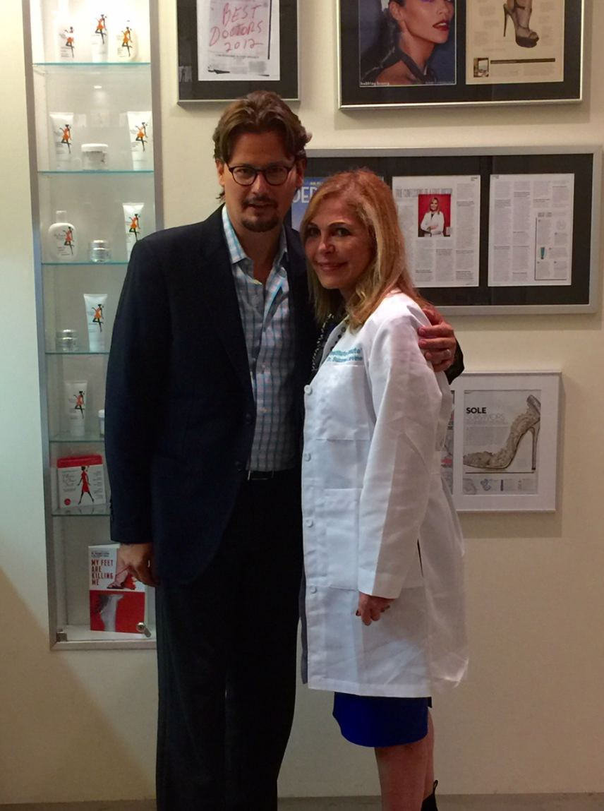 Dr. Michael Graham with Dr. Suzanne Levine