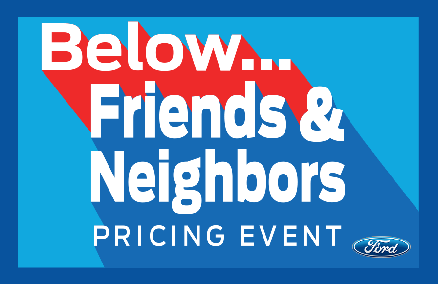 Below Friends & Neighbors Pricing at Preston Ford During the Top 100 Sales Drive