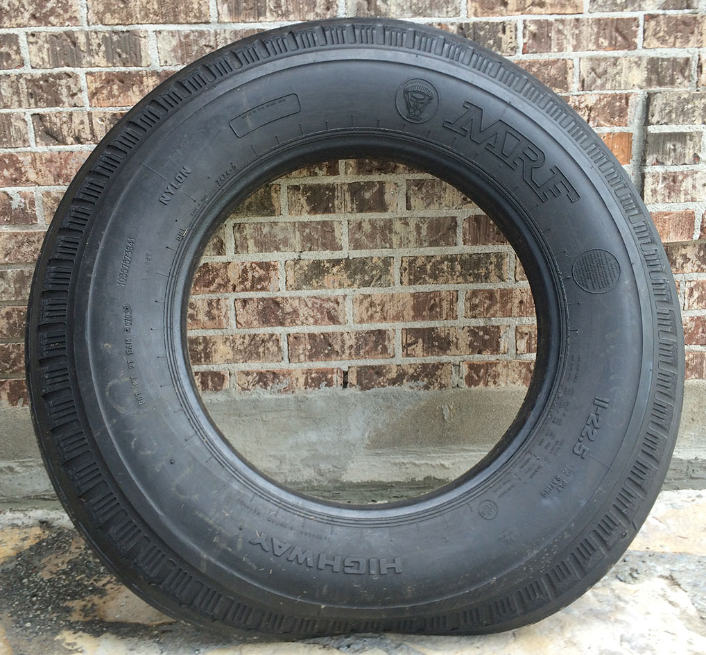 Truck Tire Sidewalls for Bunker Silo Coverage