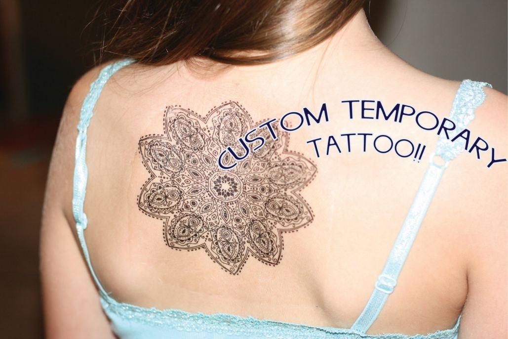 Custom temporary tattoos no minimum at serenitygifts custom temporary tattoo custom temporary tattoo