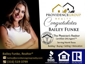 BaileyFunke, Realtor®, Certified DRS Agent®