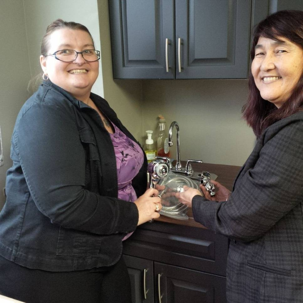 Tracy Sass ARM®, Property Manager & Norma Villamayor, Operations Manager