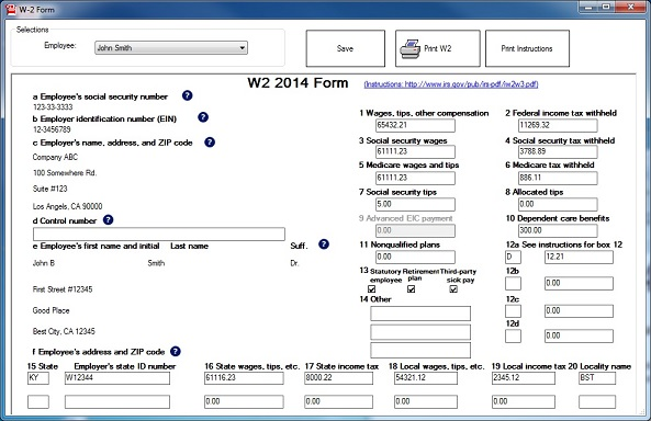 Reporting stock options on w2