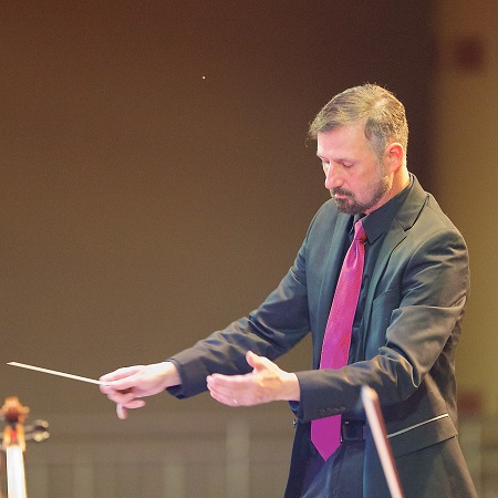 Robert Schiavinato, Conductor of the South Jersey Pops