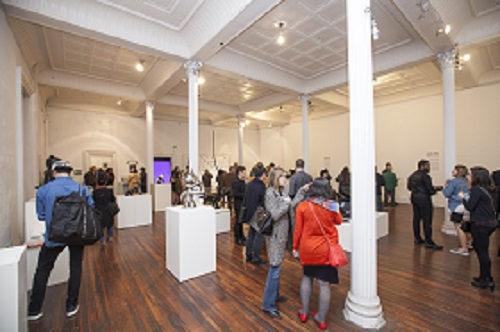 The Opening Reception in WAH Center, New York