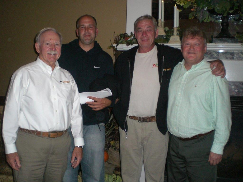 Wesson Energy CEO Bob Wesson, Steve Fillie, Richard Kelly, VP Sales, John Lucera