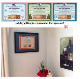 Holiday gifting just opened at Uwingu.com!