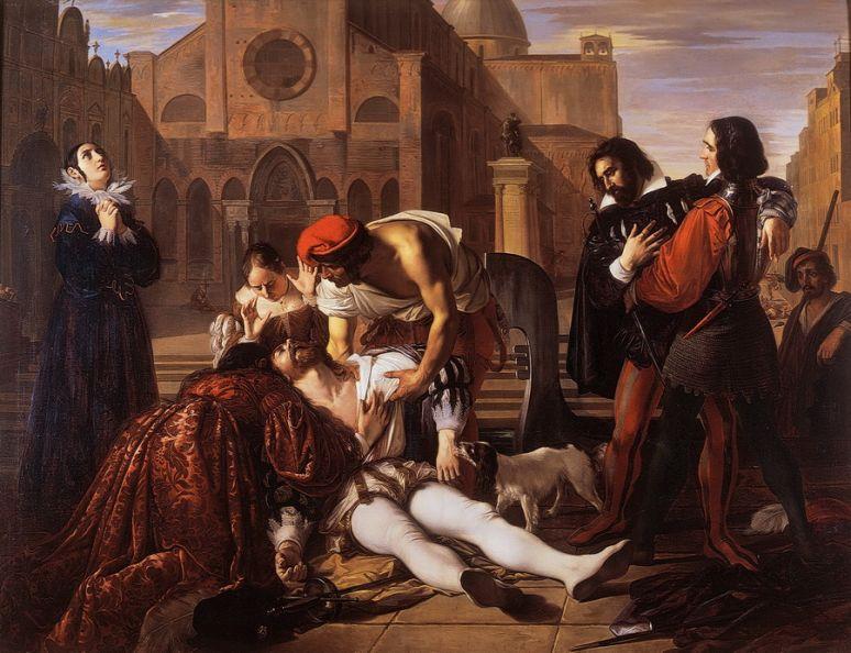 Giuseppe Bezzuoli, Murder of Lorenzino de' Medici