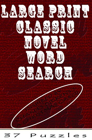 Large Print Classic Novel Word Search - A Christmas Carol