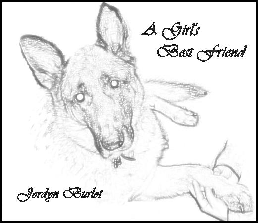 Art Inspired by Jordyn Burlot's Pet Dog, Jake
