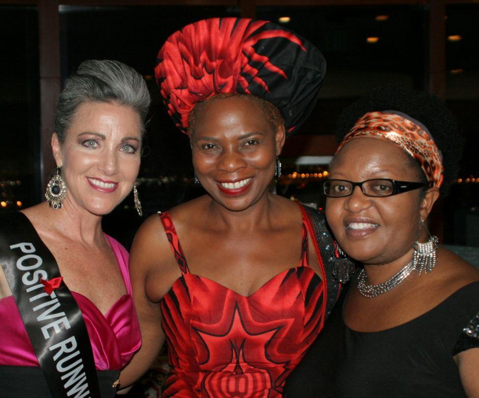 Denise O'Brien(L) w/  ITH Charities Director of Intl Programs, Yareka Mhango(R)