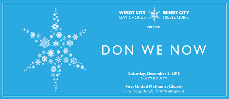 from Conner windy city gay chorus