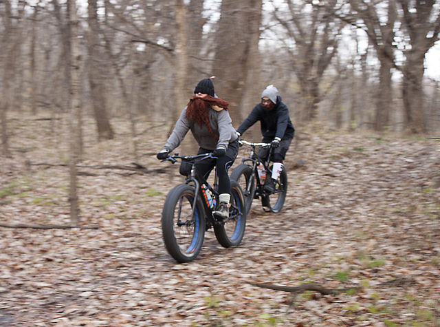 Beard Head meets Global Fat Bike Day riders