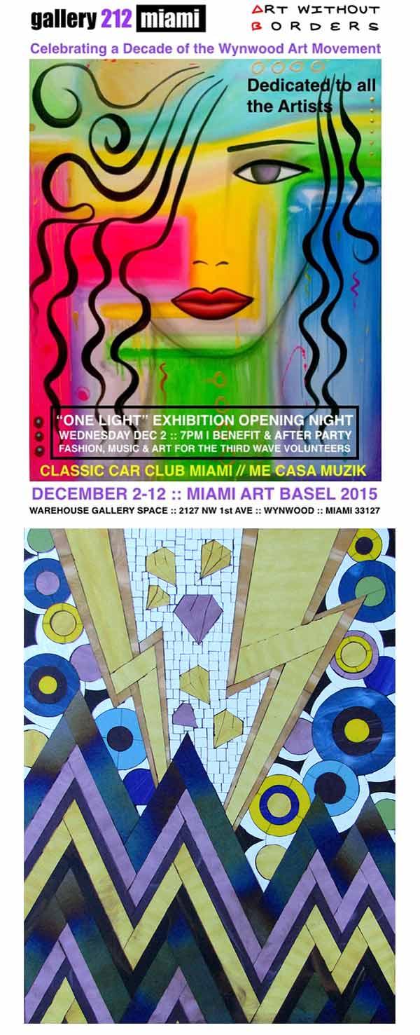 Allison Eden Art Basel Miami 2015