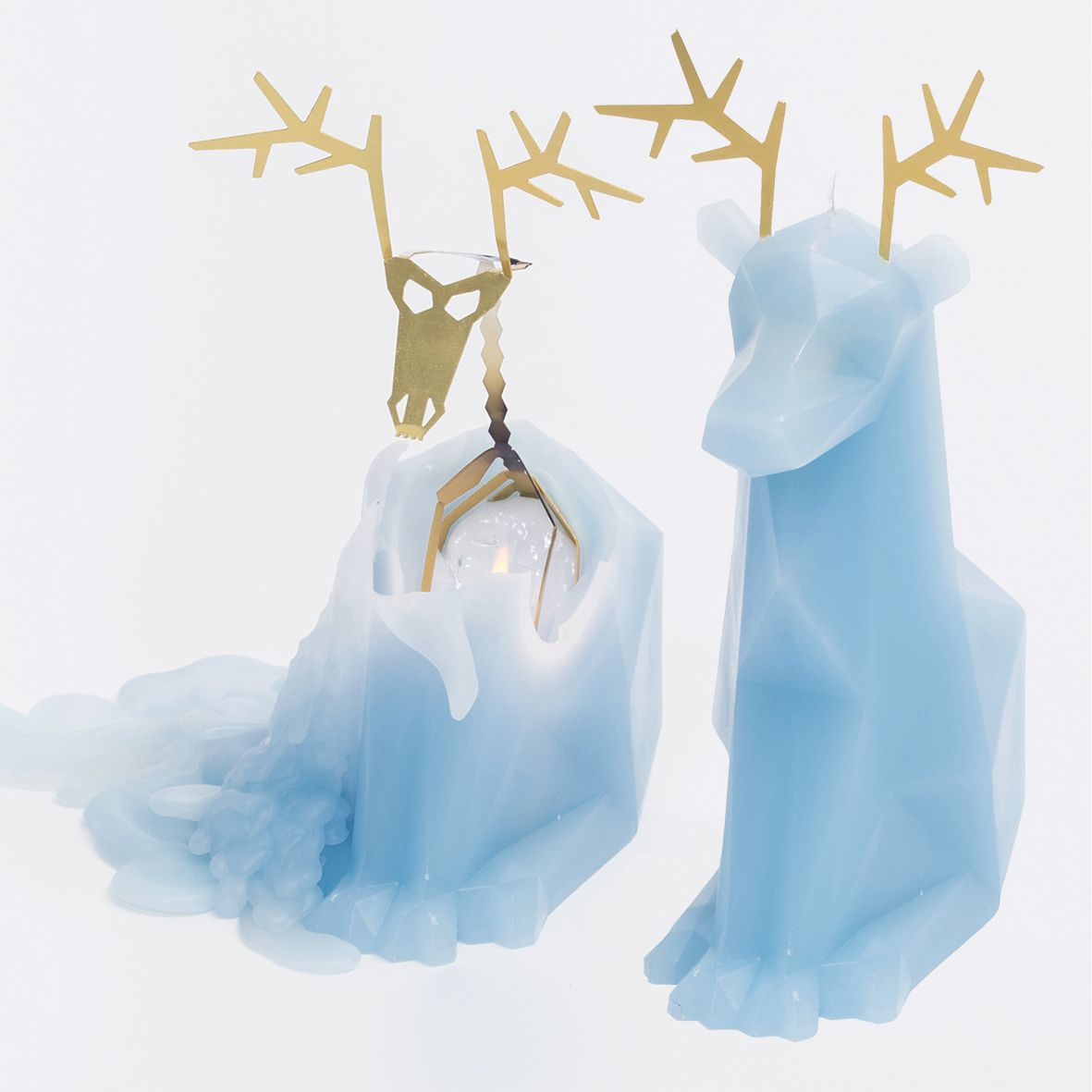 Blue Dyri by CAREBOX—Reindeer Candle