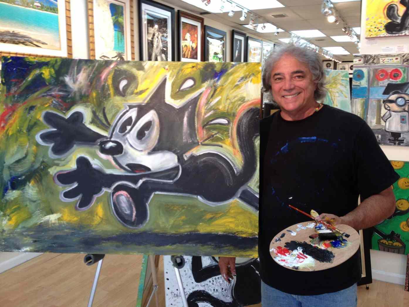 Author Don Oriolo Cartoon Animator For Felix The Cat