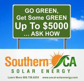 Southern California Solar Energy Announces 10 Cash