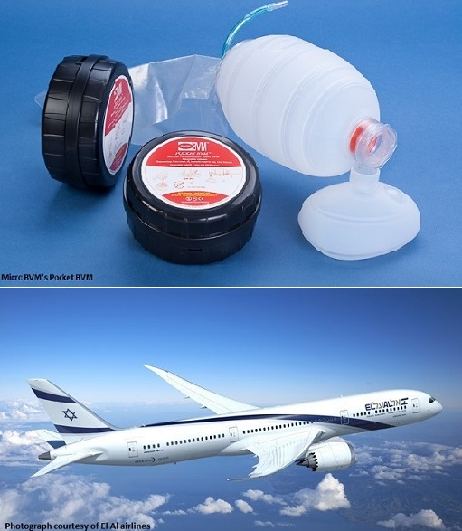 El Al to equip its fleet with the Pocket BVM device