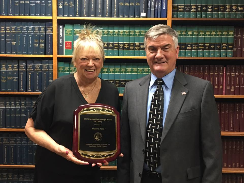 Henderson Franklin Paralegal Sharon Read Honored with 2015 ...