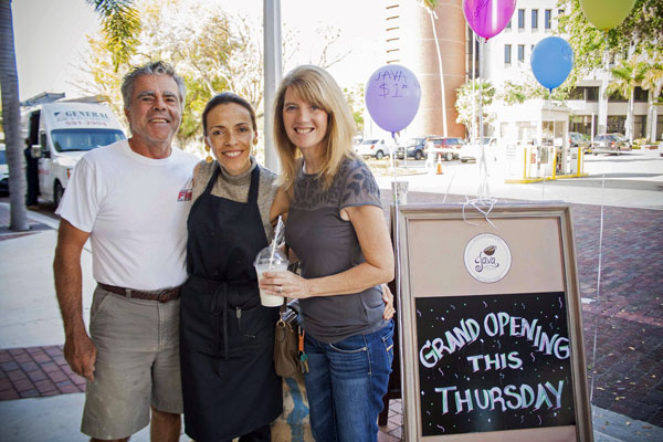 Java House in Fort Myers was started through Goodwill's MicroEnterprise program