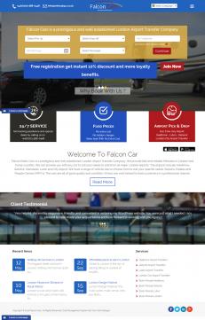 Falcon Cars Home Page