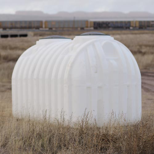 This water cistern will help provide water to a family living in Navajo Nation