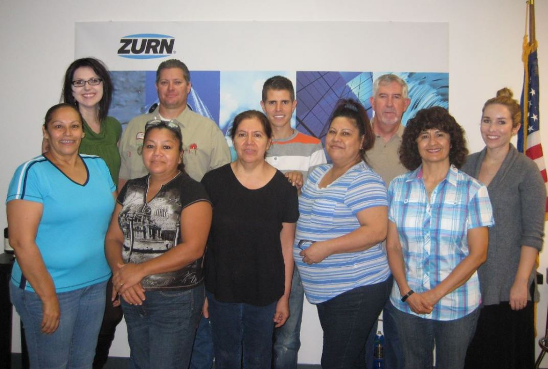 Zurn Wilkins United Way Campaign Drawing Winners