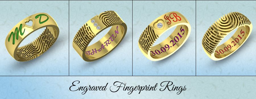 Aurobliss launches New Personalized Fingerprint Rings Collection