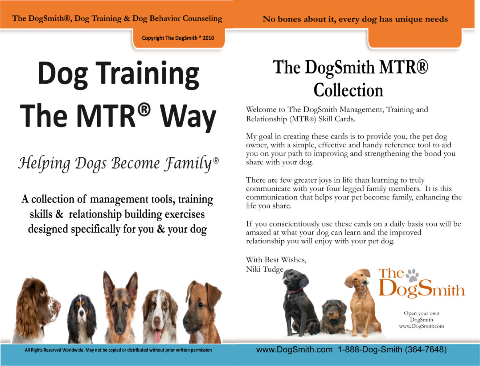 The DogSmith MTR System