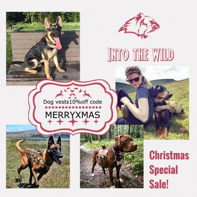 12519071 christmas special sale onetigris service dog harness vest kits pets saddle with 2