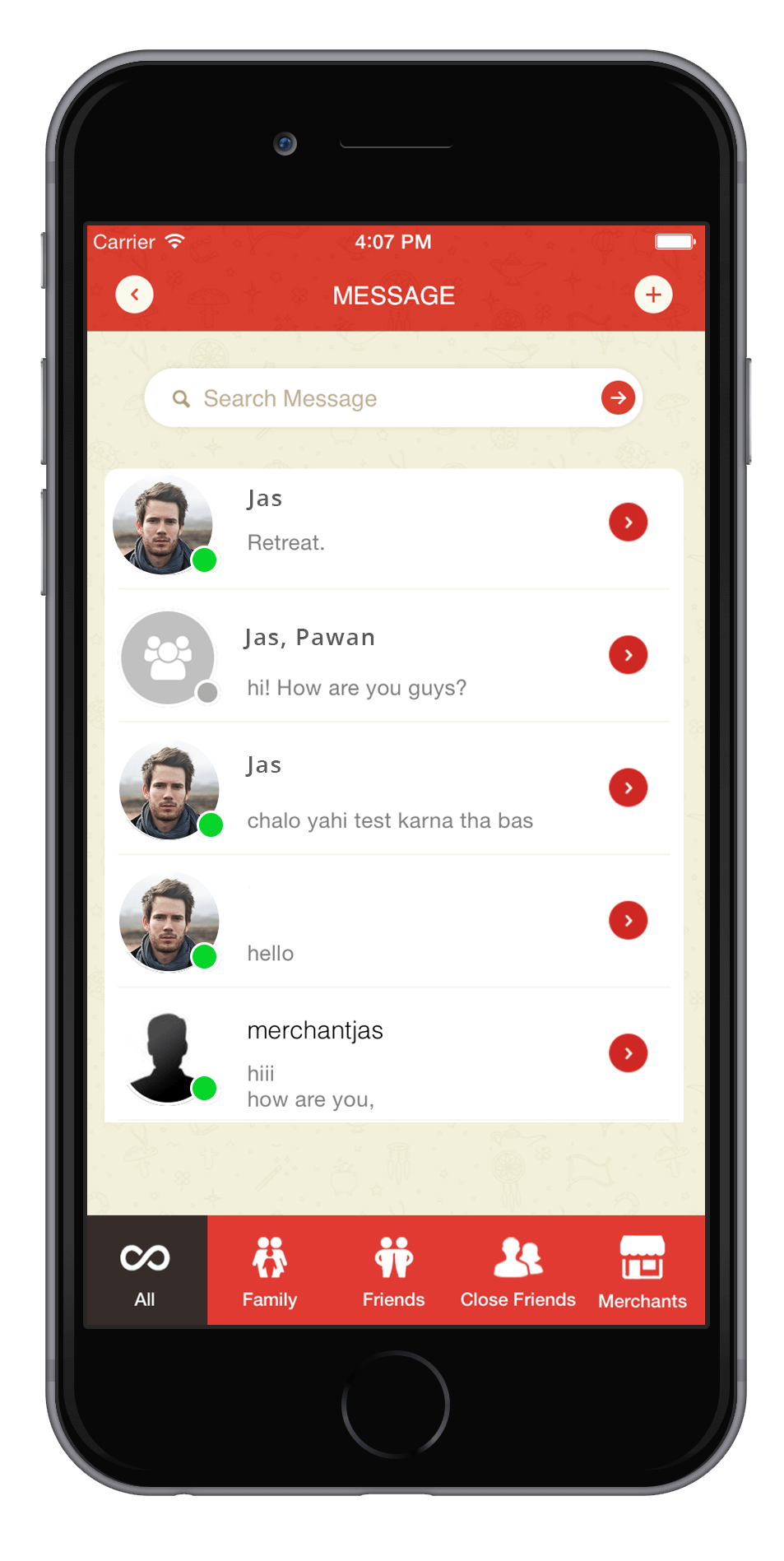 Chat with Connections