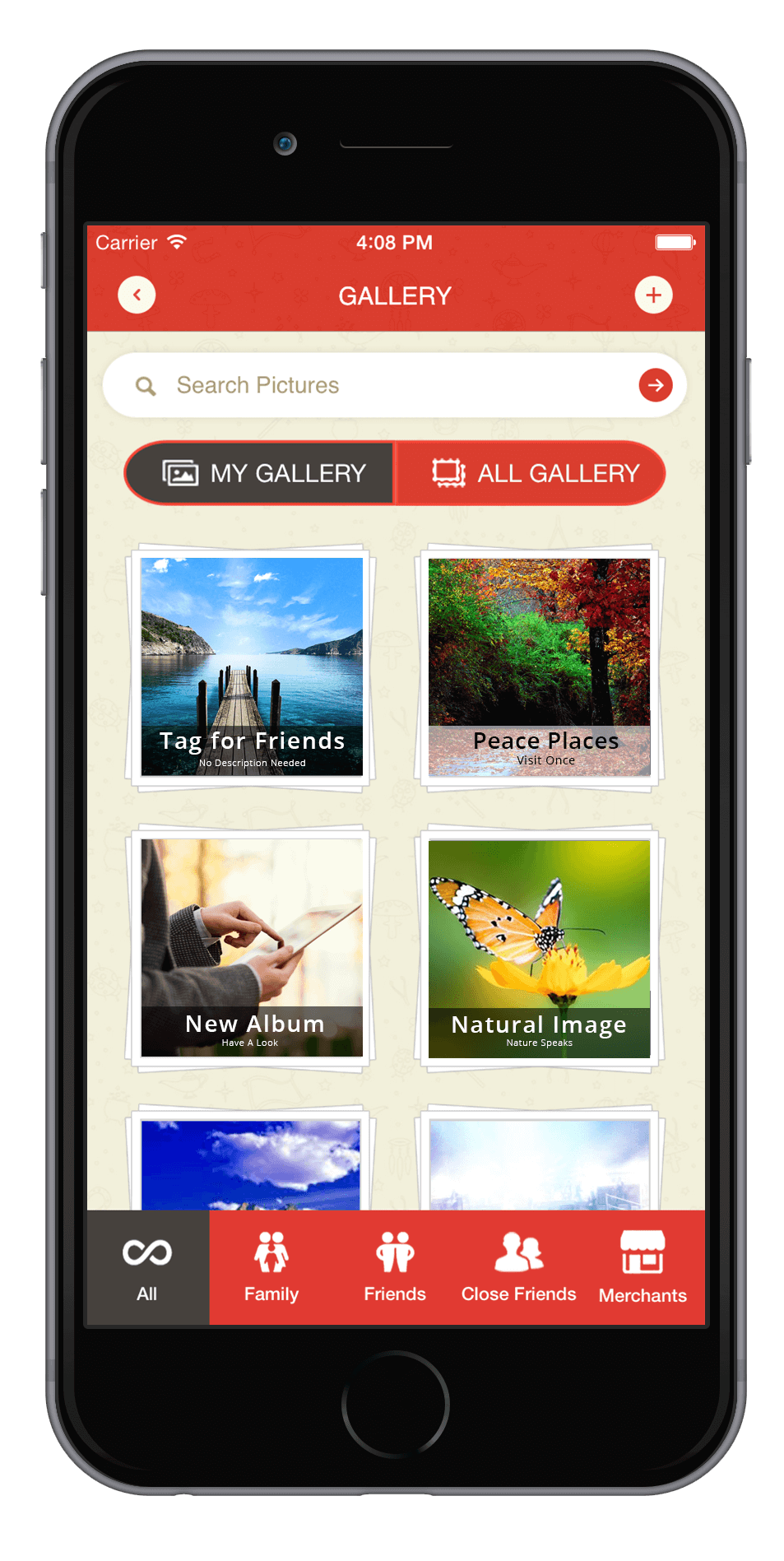 Create your Gallery