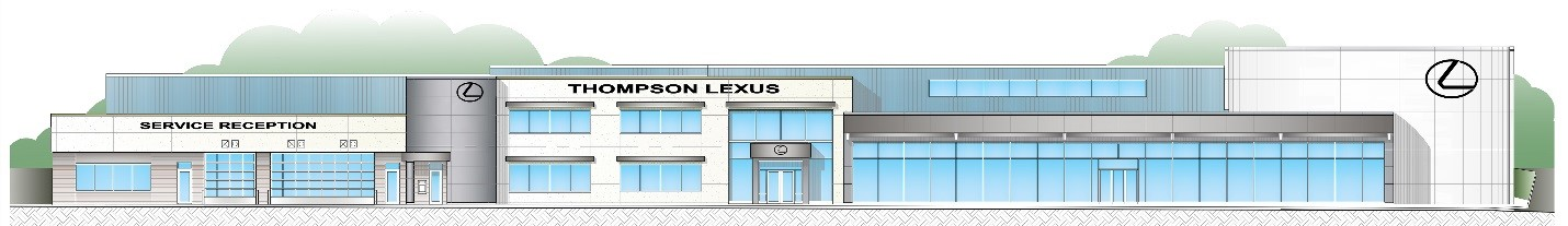 Thompson Lexus Willow Grove >> Thompson Hosts Groundbreaking Of Lexus Of Willow Grove